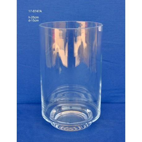 Cubo Cristal H.25 D.15 cm