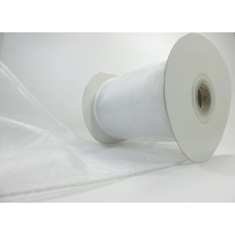 Organza Alamb 100mm Blanco
