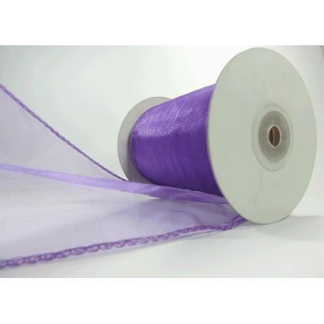 Organza Alamb 100mm Púrpura