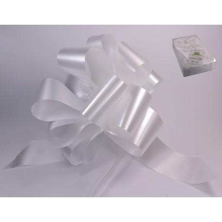 Lazo Automático Blanco 50 mm x 30 uds