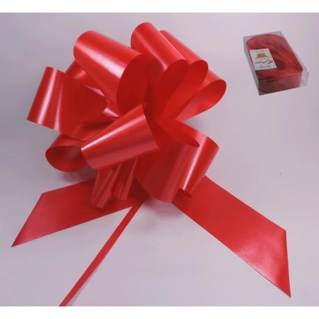 Lazo Automático Rojo 50 mm x 30 uds