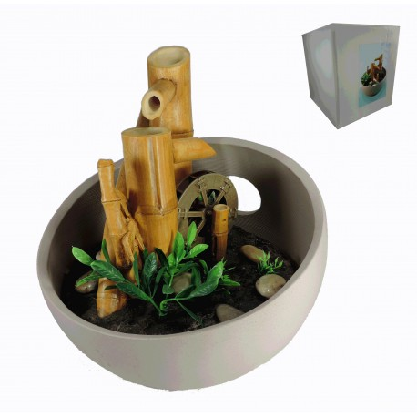 Fuente Bamboo Grande c/Motor