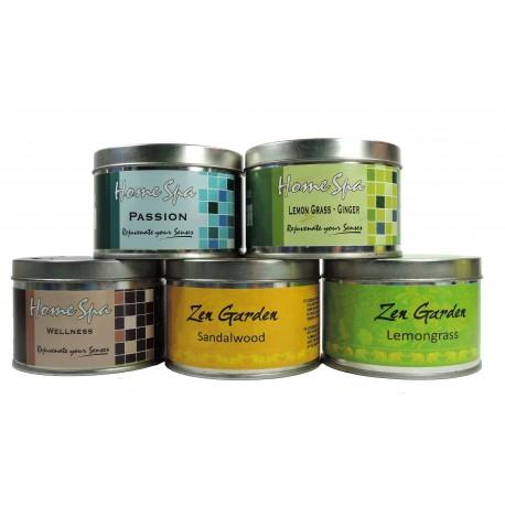 Vela Aromatica Tarro 5 Variedades Spa / Zen