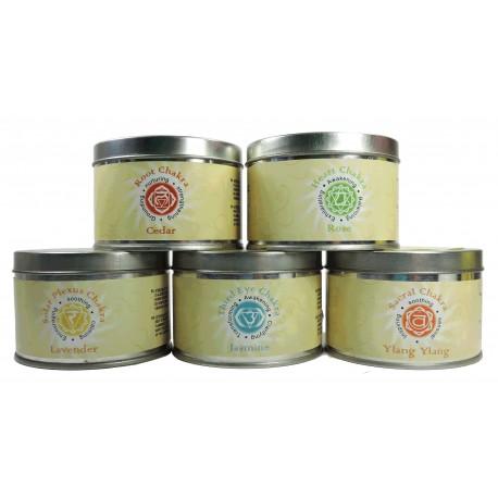 Vela Aromatica Tarro 5 Variedades Chakra