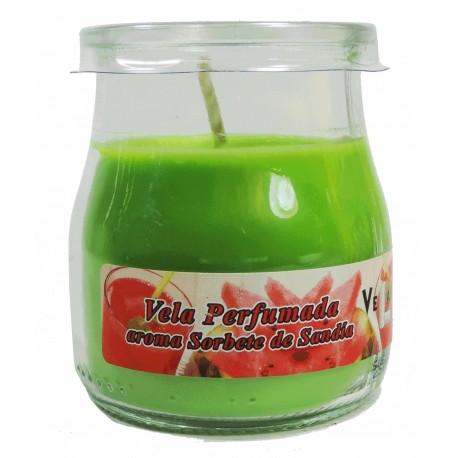 Vela Vaso Yogurt Sandia