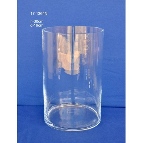 Cilindro Cristal H.30 D.19 cm