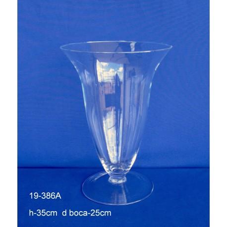 Copa Cristal H.35 D.Boca 25 cm