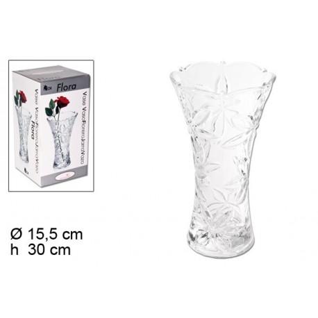 Florero Cristal Rose 30 cm