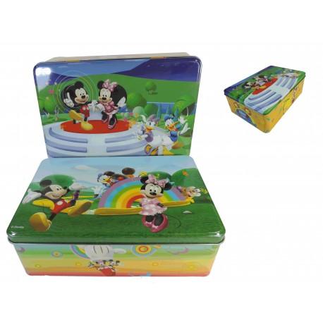 Caja Rectangular Metal Deco Disney
