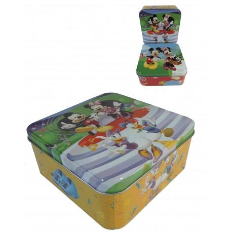 Caja Cuadrada Metal Disney 2 Mod